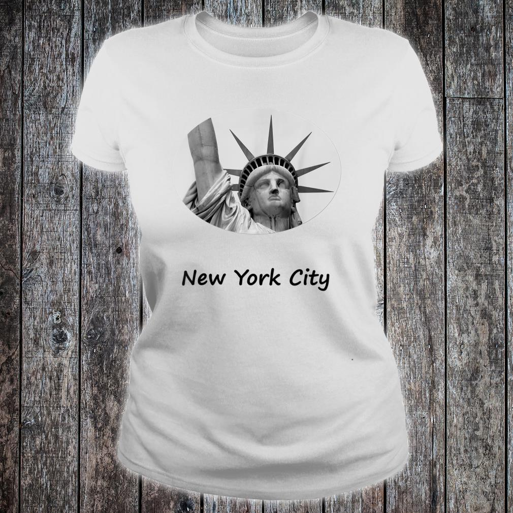 Statue of Liberty Profile Architecture Shirt ladies tee