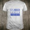 Stomach Ribbon Periwinkle Awareness Quote I Chemo Cancer Shirt