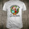 Super Mario All The Gifts Holiday Wreath Text Poster Shirt