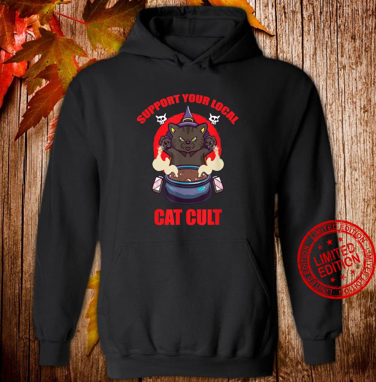 Support Your Local Cat Cult Cat Occult Shirt hoodie