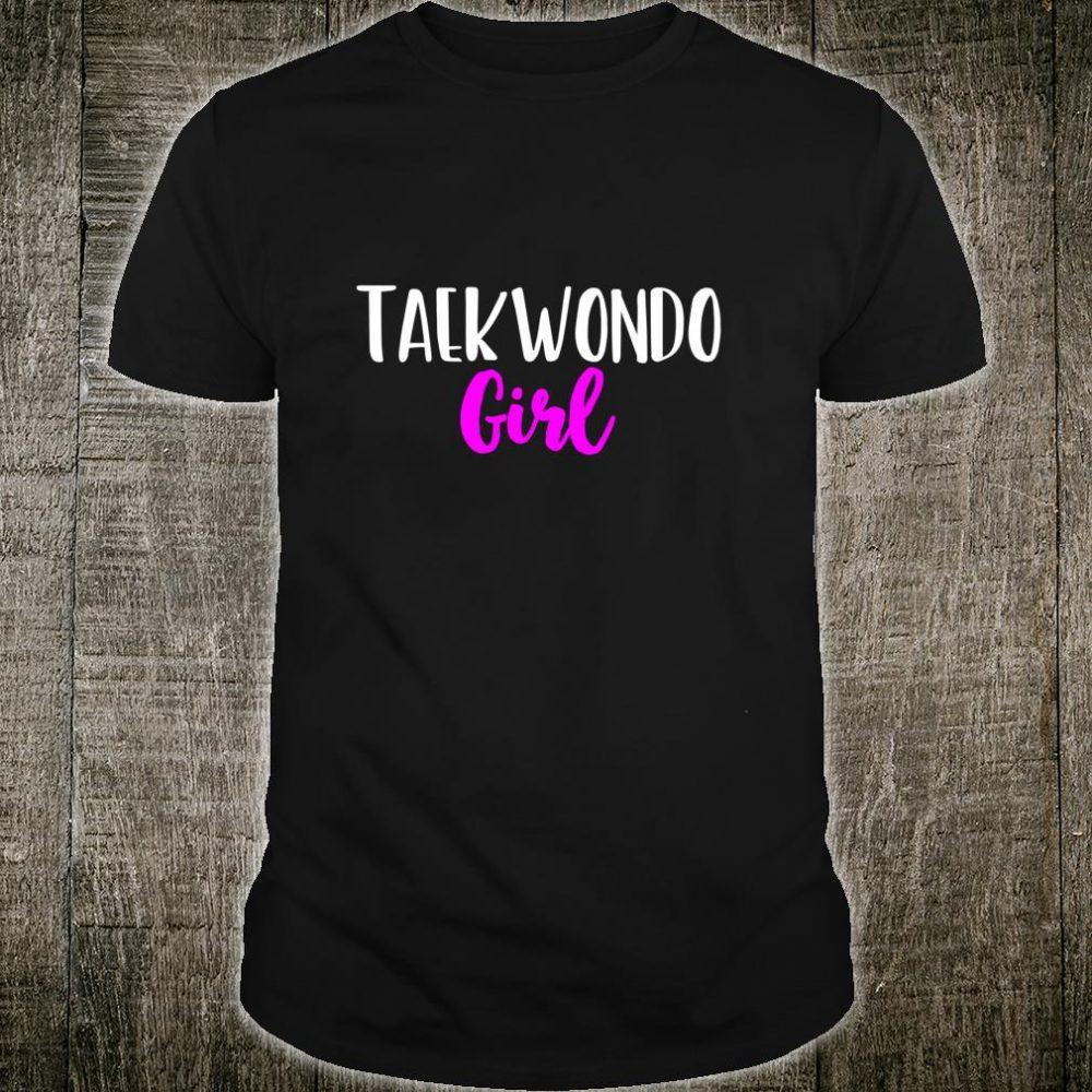Taekwondo Girl Cute Shirt