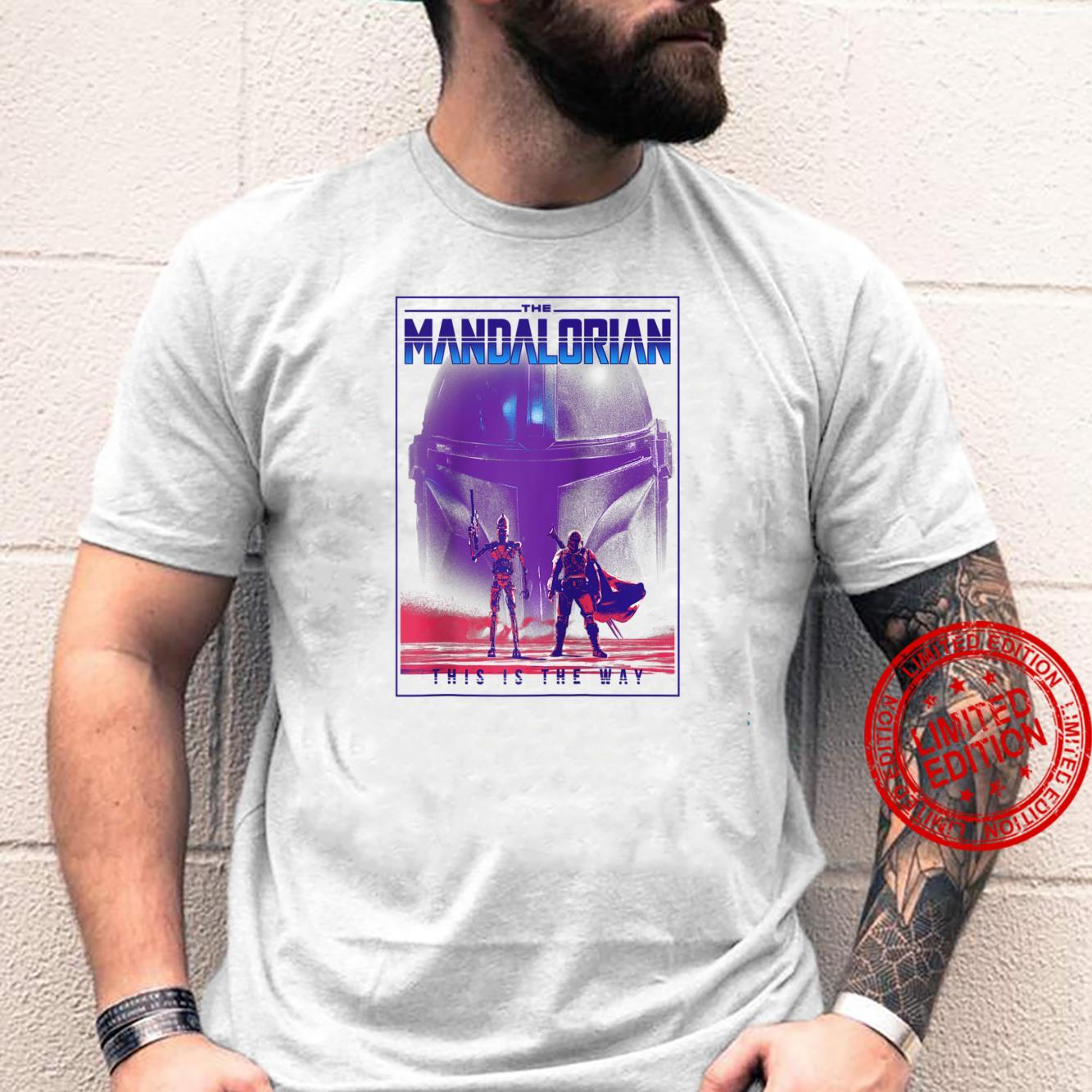 The Mandalorian & IG11 This Is The Way Poster Shirt