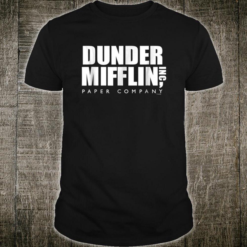 The Office Dunder Mifflin Comfortable Shirt Official Shirt