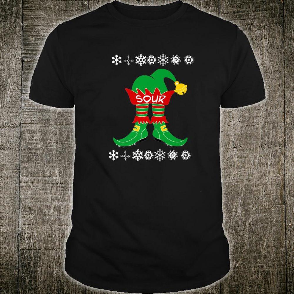 The Sour Elf, Family Group Christmas Ugly Christmas Shirt