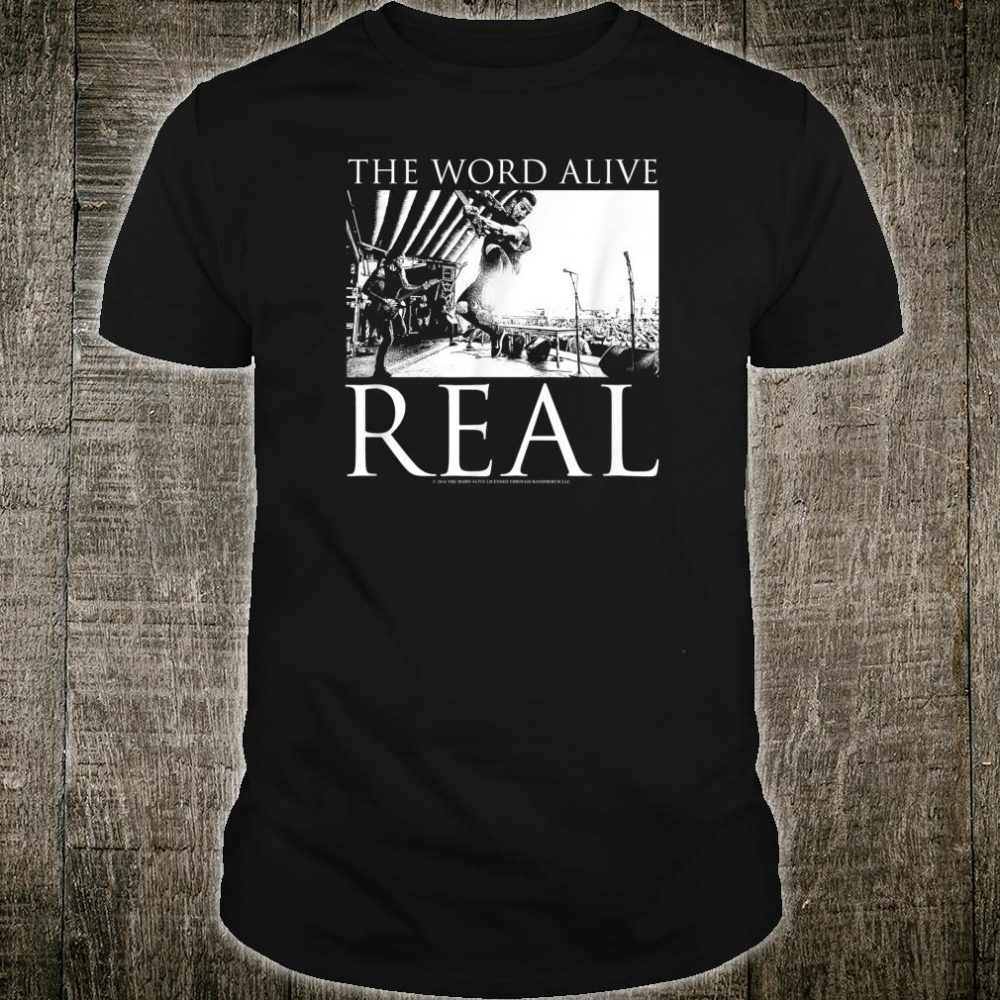 The Word Alive Real Shirt
