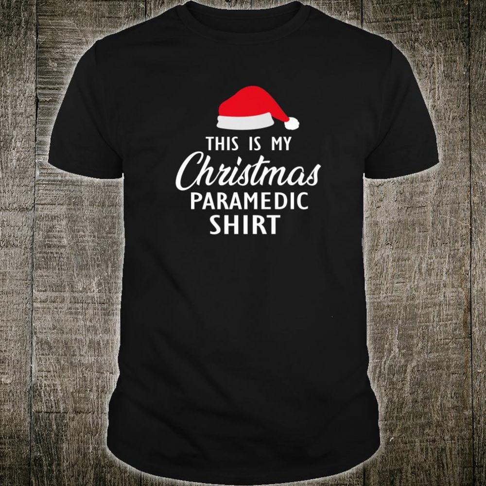 This Is My Christmas Pajama Shirt Paramedic Christmas Shirt
