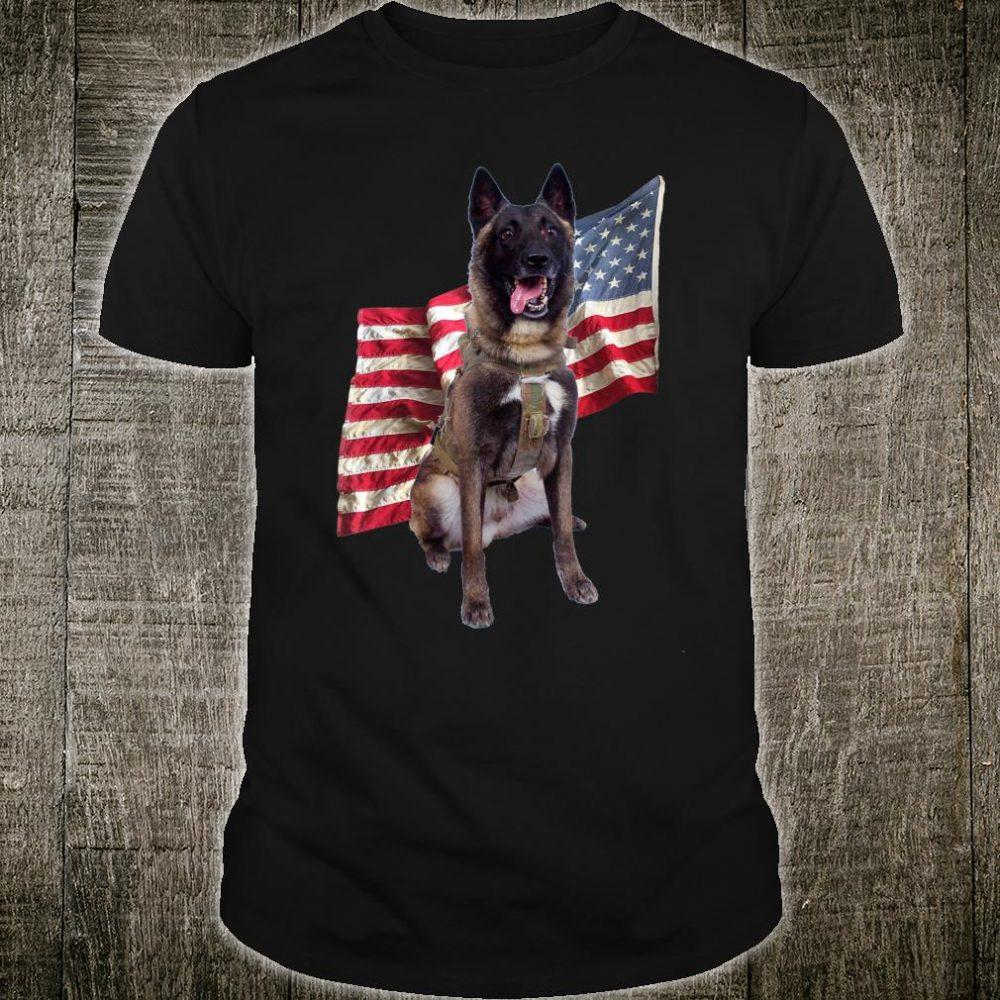 US Military Dog Hero K9 Did Great Job Shirt