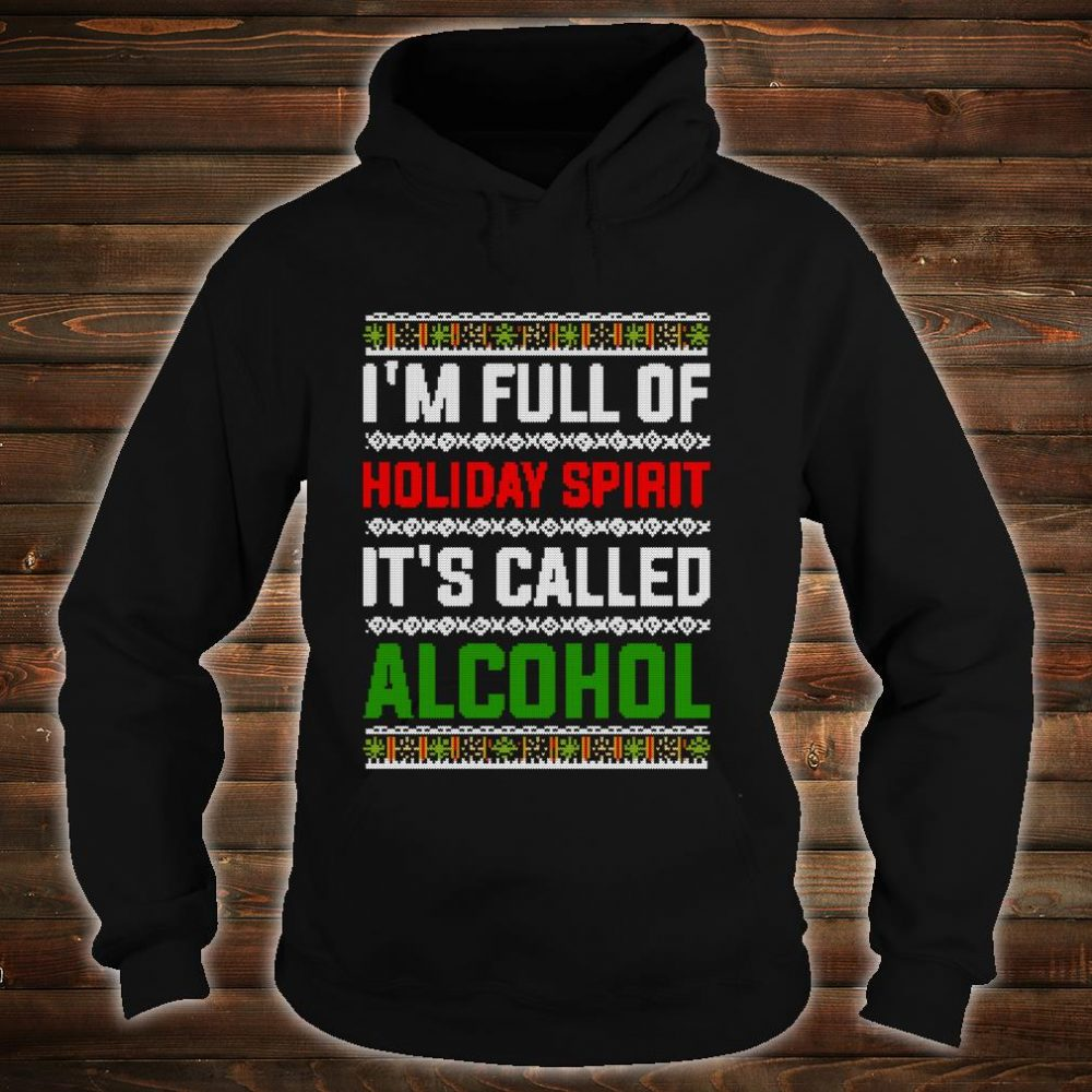 Ugly Drinking Christmas Holiday Design Alcohol Shirt hoodie