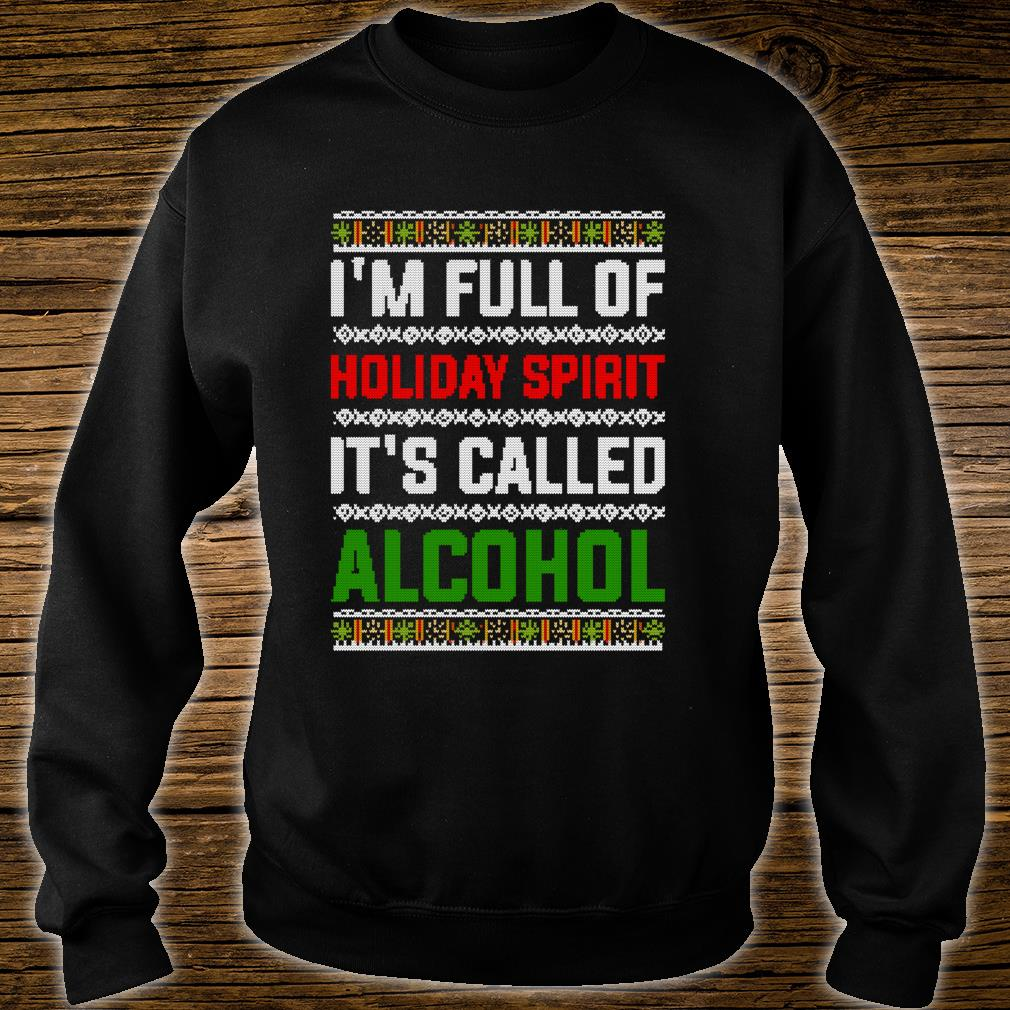 Ugly Drinking Christmas Holiday Design Alcohol Shirt sweater