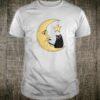 Vintage Halloween Beistle Cat on the Moon Halloween Shirt
