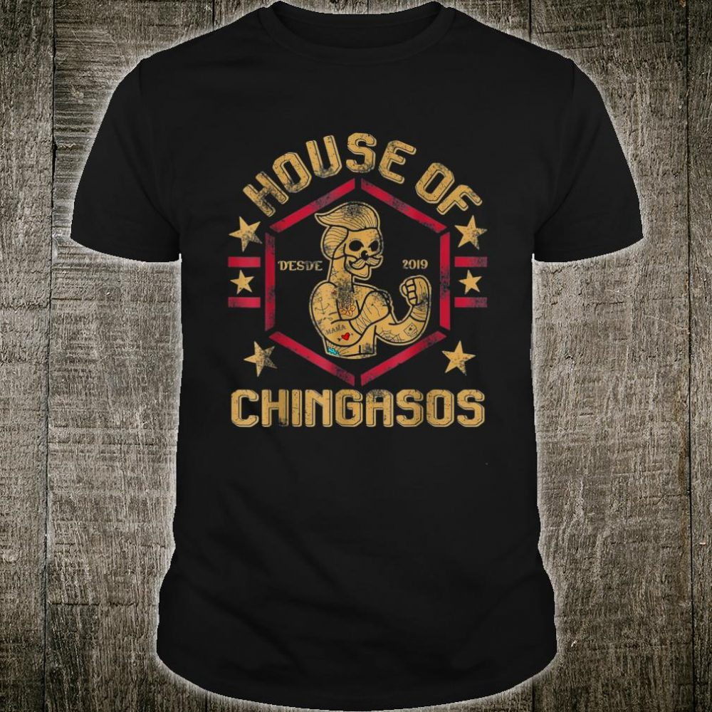 Vintage House Of Desde Chingasos 2019 Boxing Tattoo Shirt