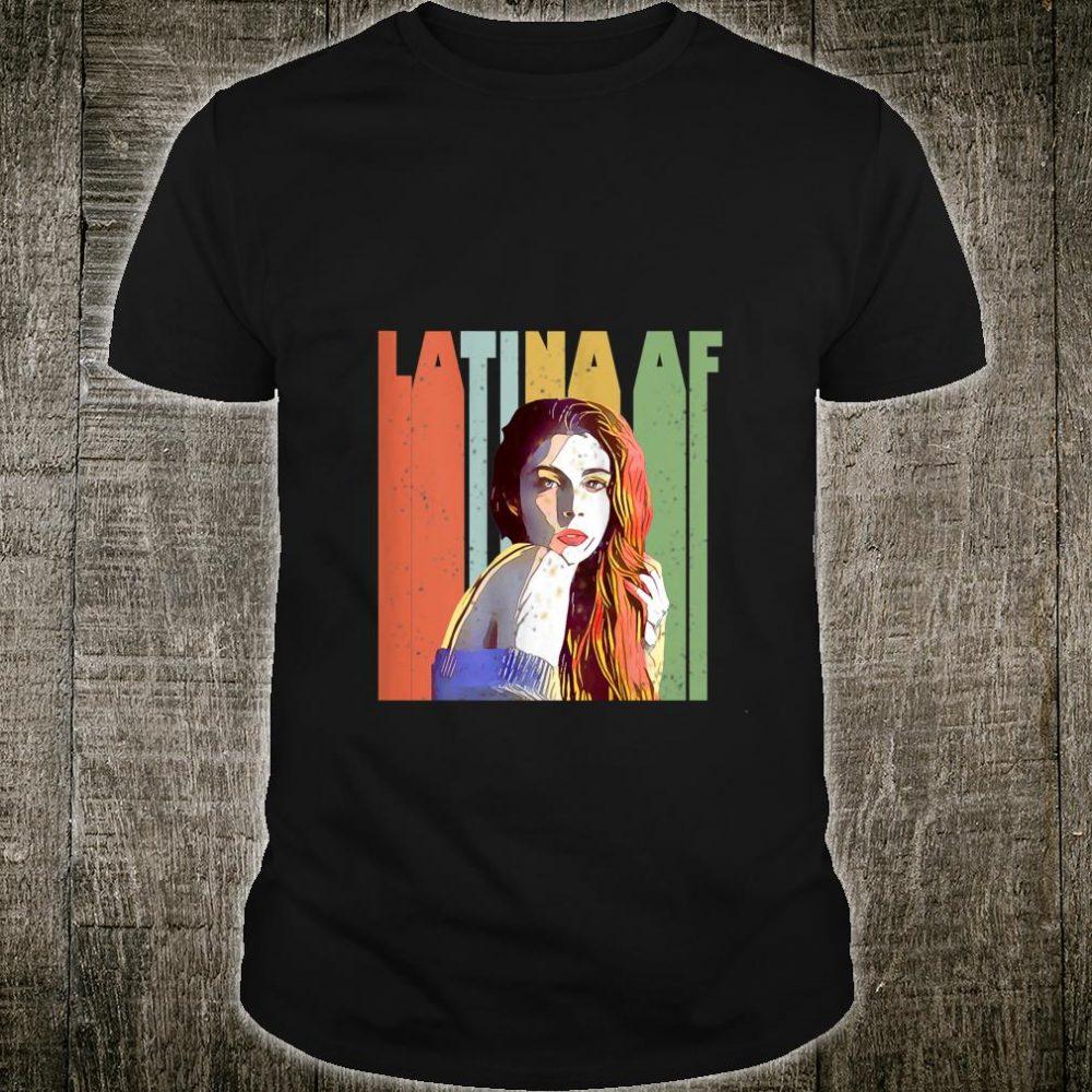 Vintage Latina AF retro Shirt