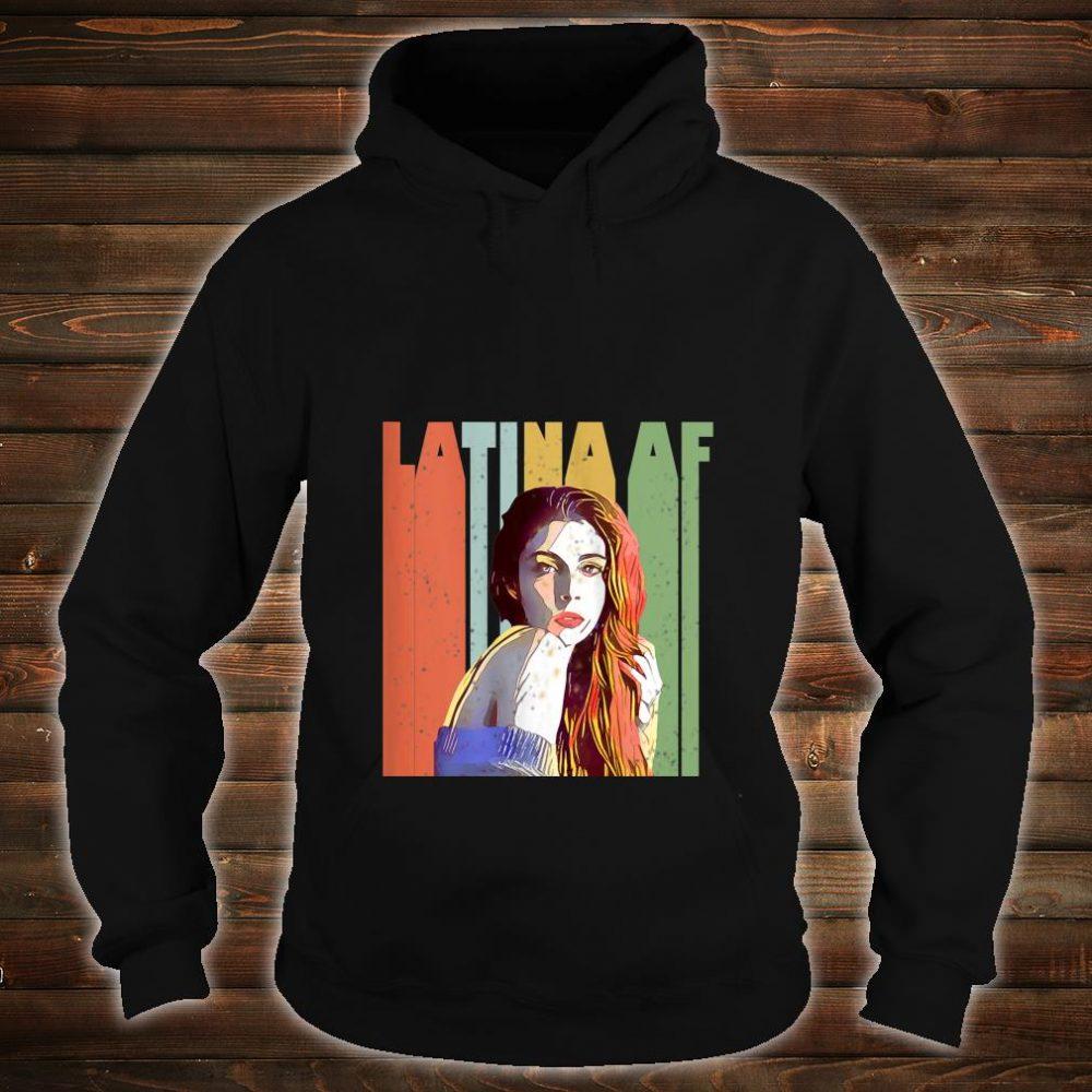 Vintage Latina AF retro Shirt hoodie