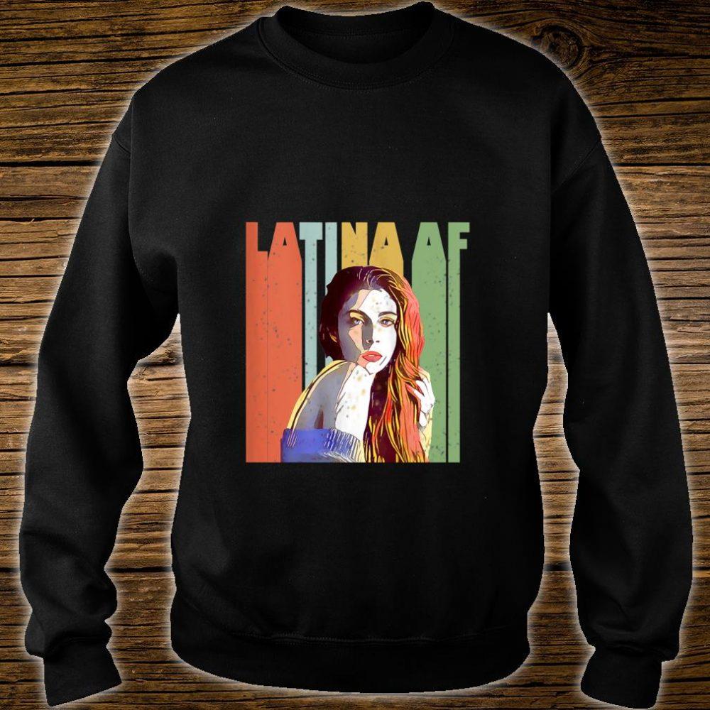 Vintage Latina AF retro Shirt sweater