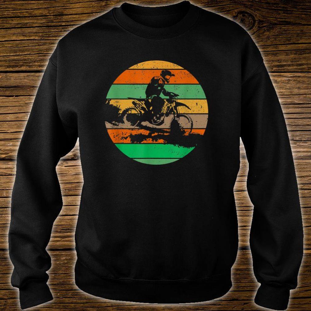 Vintage USA American Flag Dirt Bikes Distressed Shirt sweater