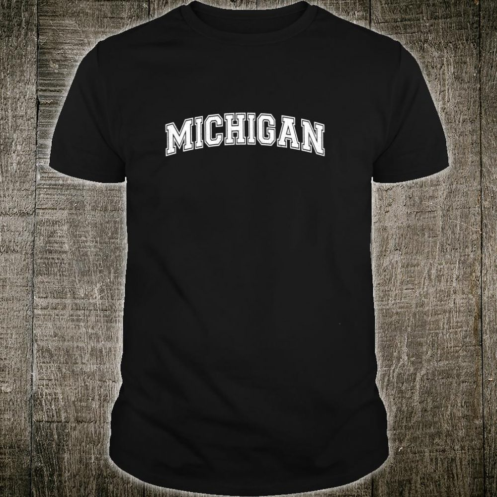 Vintage Universitylook Michigan Distressed Shirt