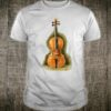 Vintage Violin Violinist Violin Player Gift Orchestra String Shirt