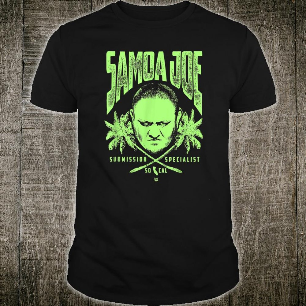 WWE Samoa Joe Palm Tree Skull Shirt