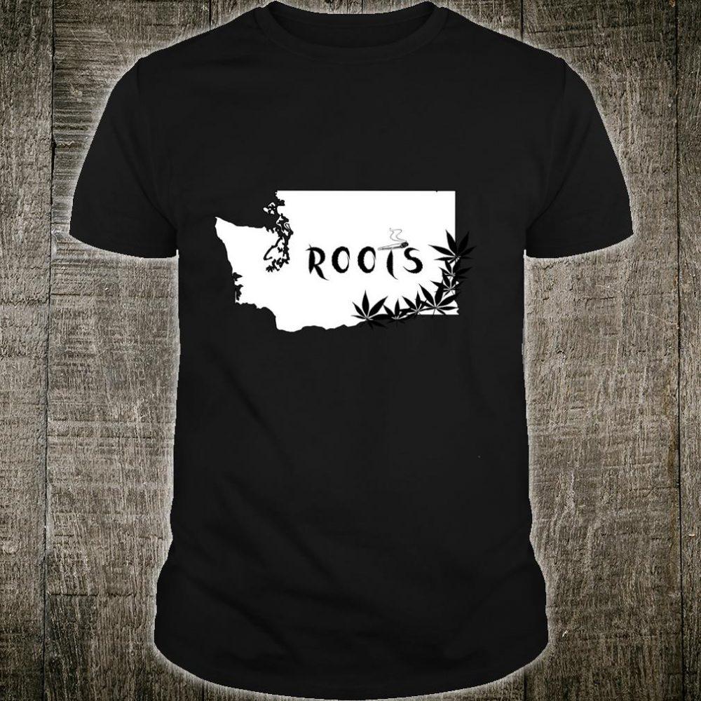 Washington State Roots Weed Shirt