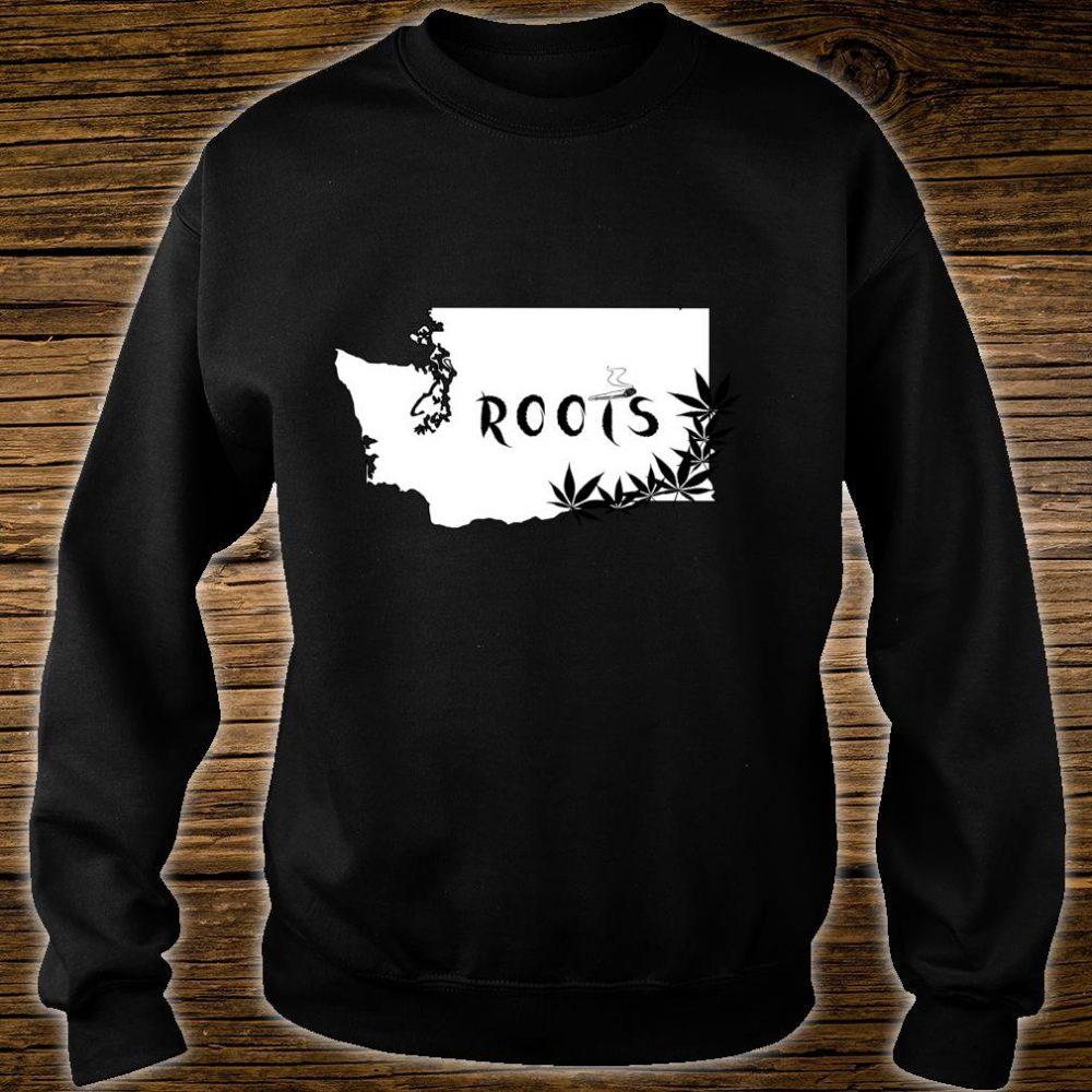 Washington State Roots Weed Shirt sweater