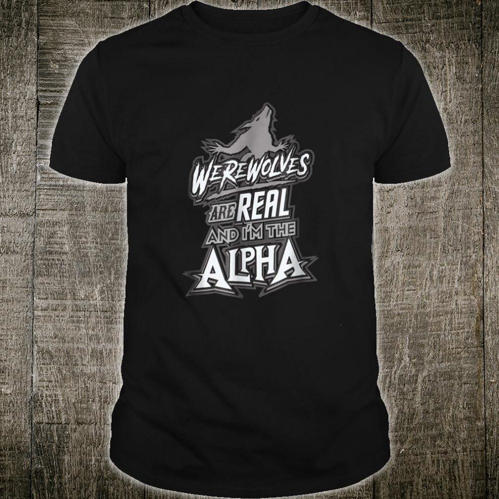 Werewolves Are Real Halloween Shirt