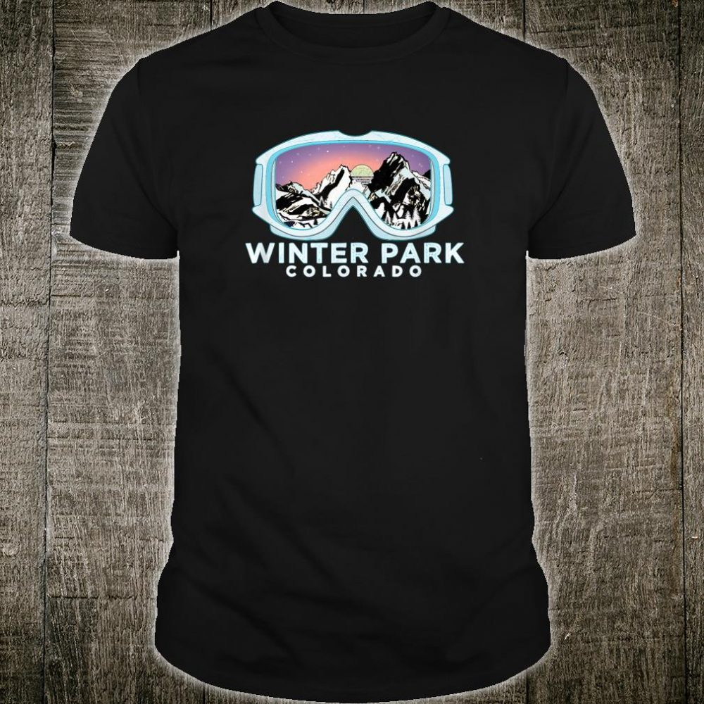 Winter Park Ski Design Winter Park, CO Skiing Snow Shirt