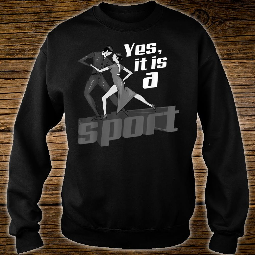 Yes, It Is A Sport Cute Heart Beats For Dancing Shirt sweater