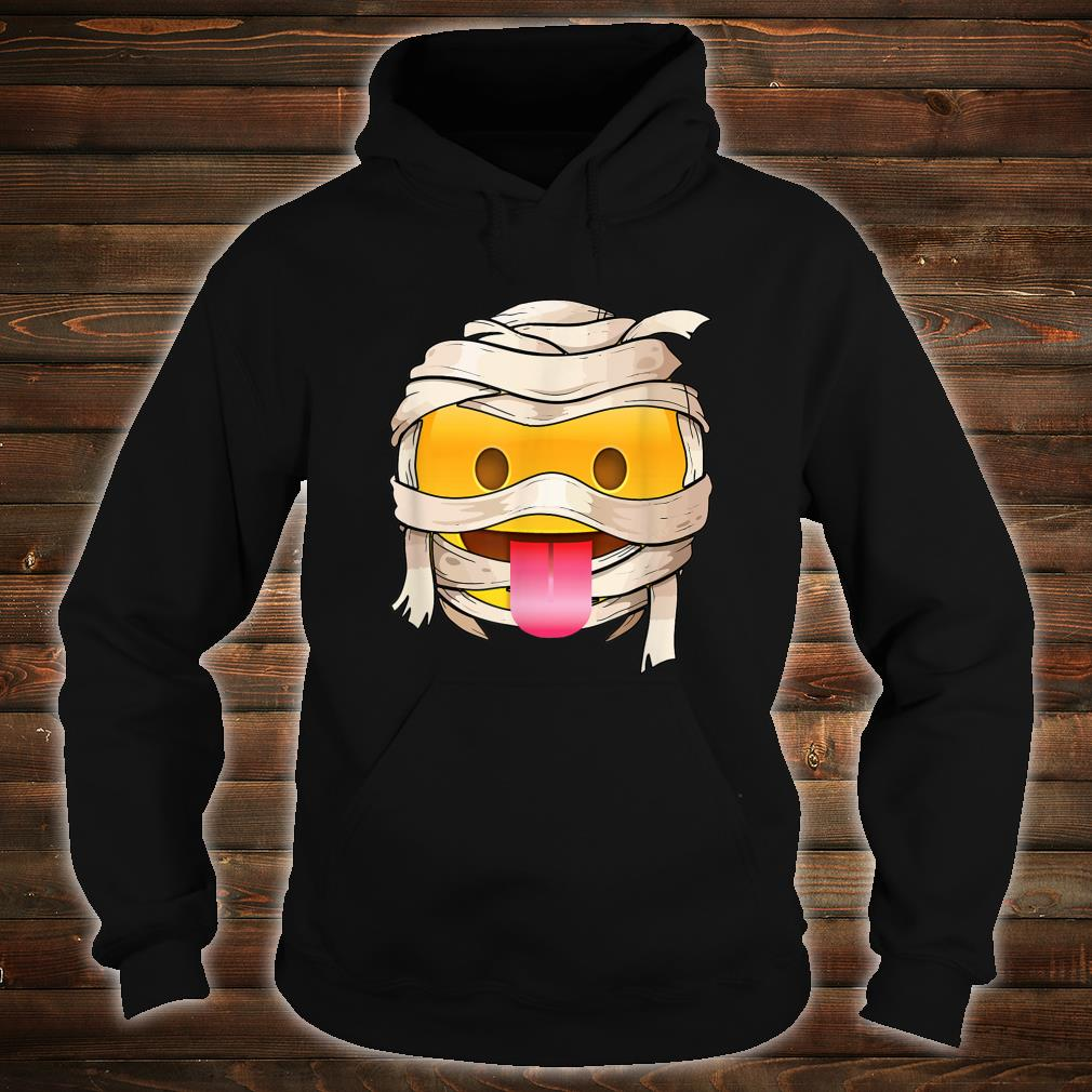 face with tongue Emoji Wink Out Tongue Halloween Costume Shirt hoodie
